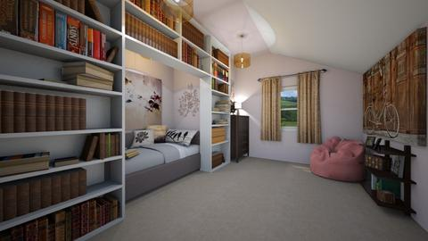 Nookish bedroom - Eclectic - Bedroom - by SpicyMcPie