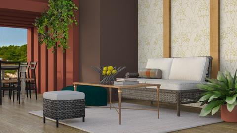 Summer House - Modern - Living room - by millerfam