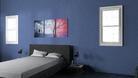 One Bedroom House - Country - Bedroom - by aubriella