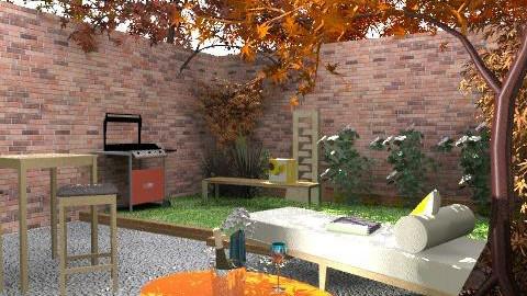 brooklyns house5 - Retro - Kitchen - by kadee1111
