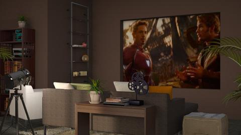 Movie Night - Modern - Living room - by millerfam