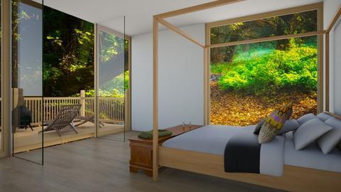 Tropical Hotel - Bedroom - by Yate