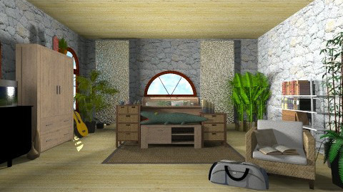 Targather - Bedroom - by ferguesfalls
