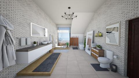Southwest Master Bath - Modern - Bathroom - by mdesign13