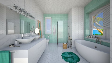 Wall feature - Bathroom - by TasiaClarke