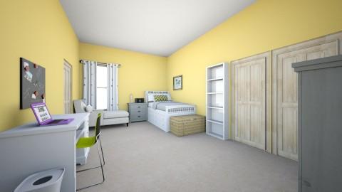 My bedroom design - Rustic - Bedroom - by kforrester01