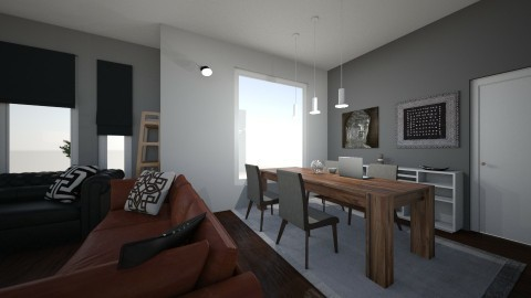 Apartment Dining Area - by Bernhard Preiss