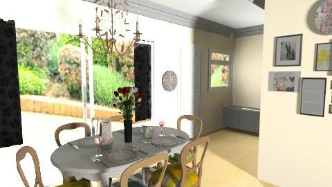 dining room final_____2 - Dining room - by bellabravis