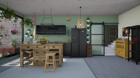 38 - Kitchen - by Raven Storme