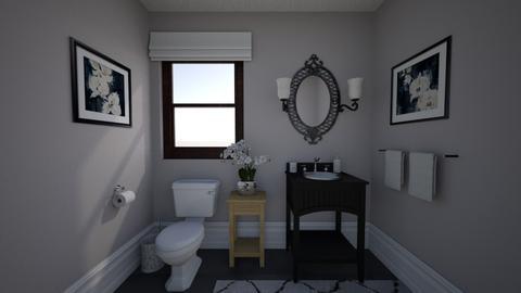 Powder Room Idea - Vintage - Bathroom - by MessyArtwok