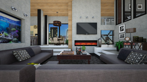 BusinessMan - Modern - Living room - by channing4