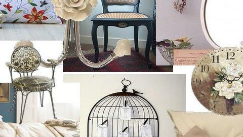Vintage - Eclectic - Bedroom - by Katelynn