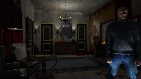 Scary Hall - by ZsuzsannaCs