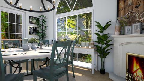 Leonardo - Dining room - by _firecrackers