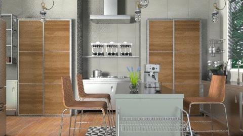 Industrialist - Modern - Kitchen - by channing4