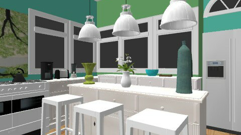 Kitchen - Modern - Kitchen - by egrimsley