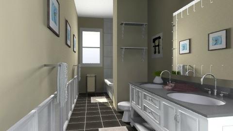 My Bathroom - Modern - Bathroom - by dredre1030