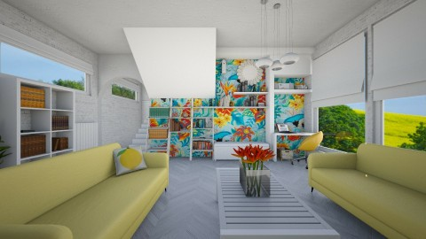 tropic - Modern - Living room - by donella