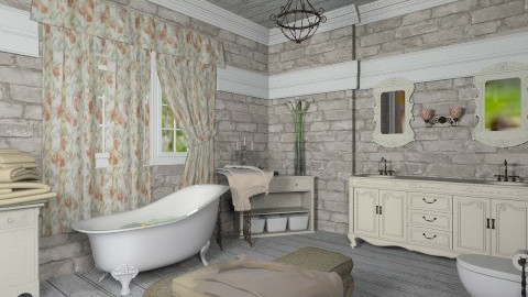 French style - Vintage - Bathroom - by Deni_P