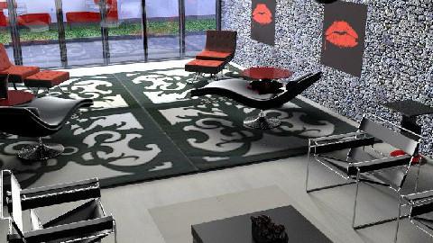 a room  - Living room - by nadege