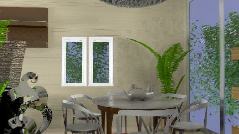 MB living/dining room 002 - Dining Room - by imnium