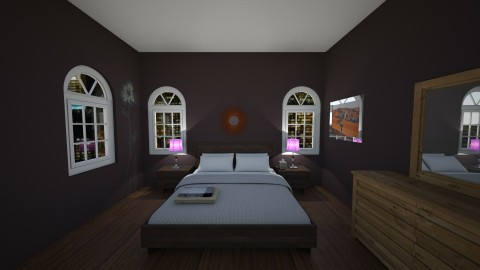 vbyinbhjnhjnkm - Retro - Bedroom - by The vamps lover