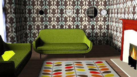 Room Rescue_FINAL retro 2 agai - Retro - Living room - by AslamG