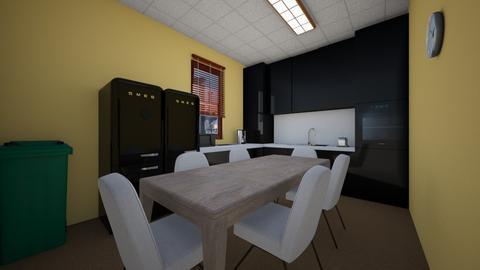 Office Break Room - Kitchen - by SammyJPili