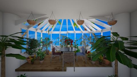 garden room - by kla