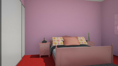 Pink dream - Bedroom - by taco_stoned