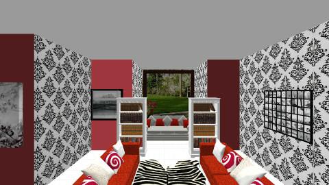 retro - Living room - by josierobsonxx