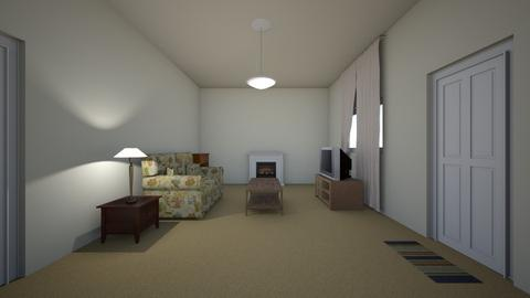 Student Apartment 02 - Living room - by WestVirginiaRebel