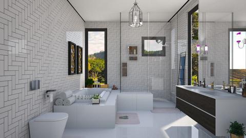 BANH - Bathroom - by Roberta Coelho