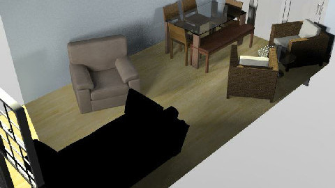 Renovation 1 - Dining Room - by Nicola724