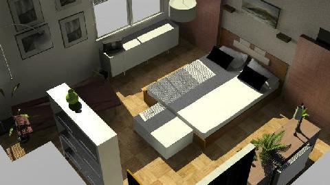 Peter;s Pad - Bedroom - by karibu121