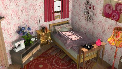 Minimalistic, warm tones - Minimal - Bedroom - by streetchild