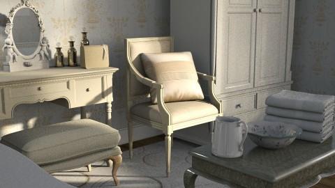 cream - Classic - Bedroom - by anchajaya