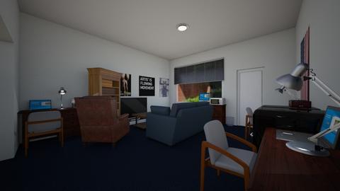 Dorm Suite Style Desks 2 - Bedroom - by SammyJPili