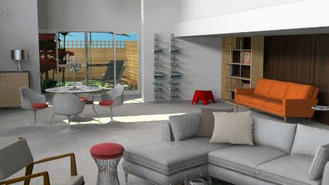 Penthouse room - Modern - Living room - by playrich
