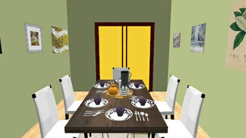 Dining Feast - Dining room - by Mya