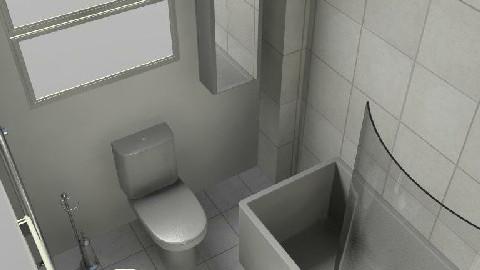 bathroom - by motionm