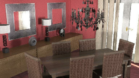 eetkamer4 - Dining Room - by melleke