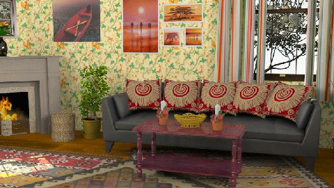 cheerful - Living room - by streetchild