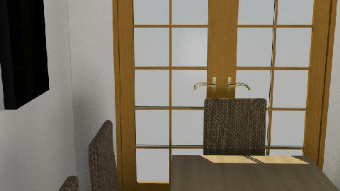 My Room - Dining Room - by cmacc80