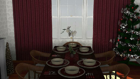 Candy Cane dining - Dining Room - by gingerpantz