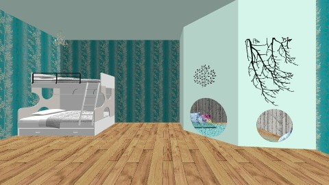Cubby hole - Kids room - by Louisa B