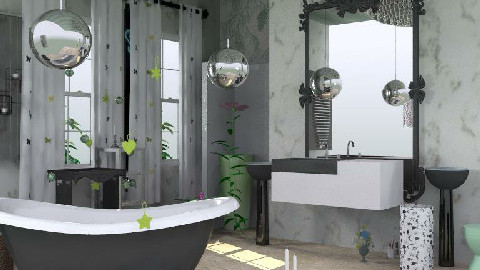 BATHROOM7 - Classic - Bathroom - by asifgoldpk
