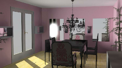 dining room1  - Dining Room - by eleesha06