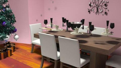 Christmas Dinner - Dining Room - by ej2k3