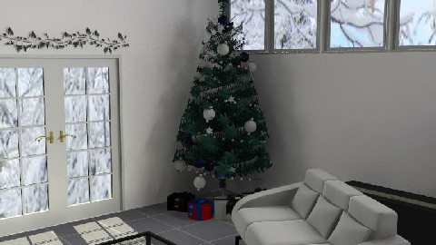 christmas room - Living room - by laura1996